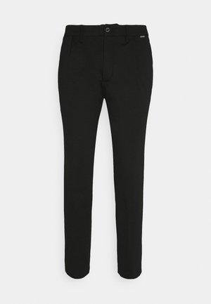 PUNTO MILANO PANT - Spodnie materiałowe - black