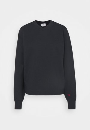 V NECK - Sweatshirt - dark navy
