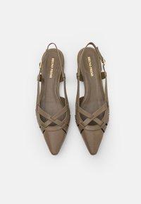 Bruno Premi - Slingback ballet pumps - poncho kaki - 5