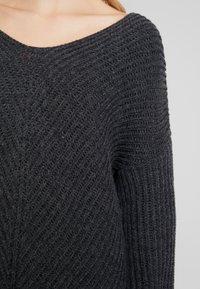 Herrlicher - FRANKA MIX - Trui - dark grey/melange - 4