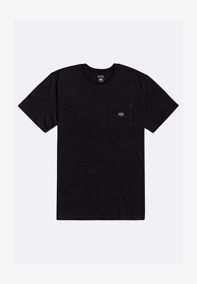 STACKED  - T-shirt basic - black