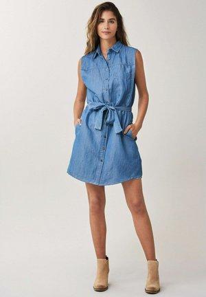 EUGENE - Denim dress - blau