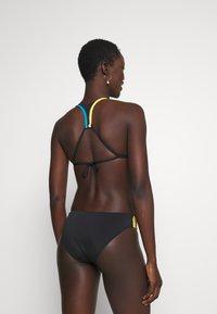 Polo Ralph Lauren - PLUNGE HALTER BRA - Bikini top - black - 2