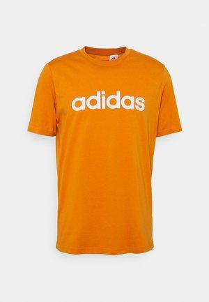 T-shirt z nadrukiem - focus orange/white
