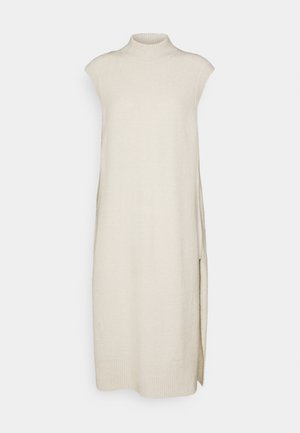 ONLJANINE WAISTCOAT DRESS - Jumper dress - pumice stone