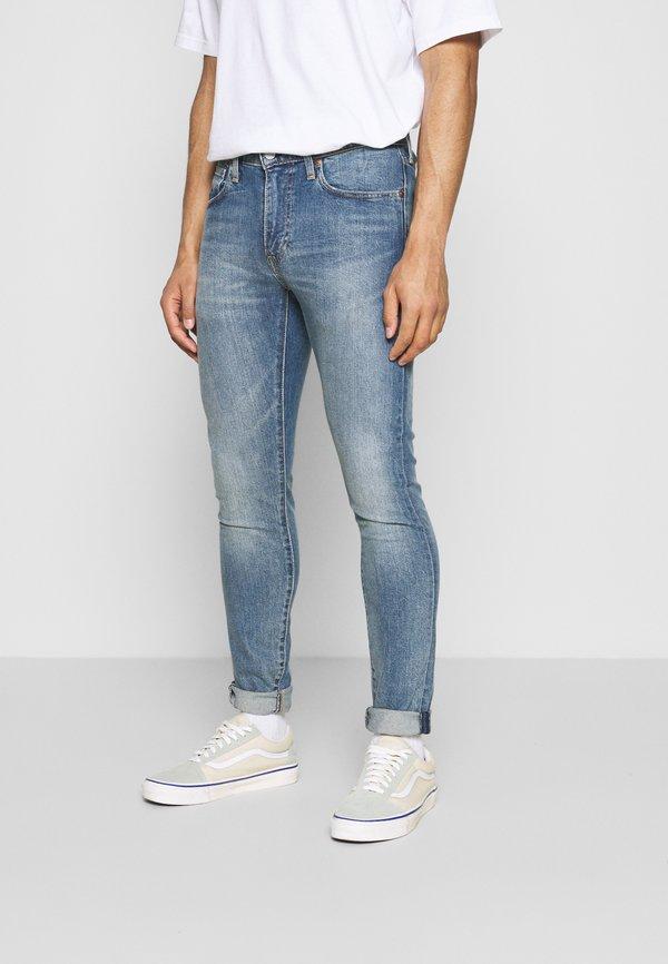 Levi's® SKINNY TAPER - Jeansy Skinny Fit - med indigo/niebieski denim Odzież Męska MTXL