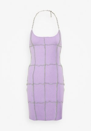 BASKER HALTER DRESS - Jumper dress - purple
