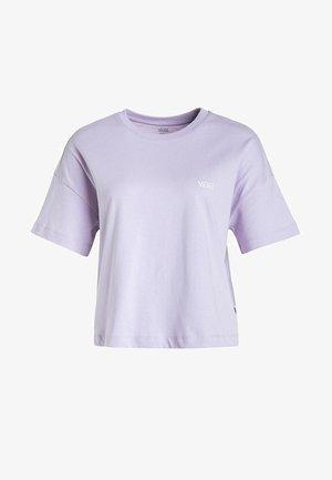 Camiseta básica - purple heather