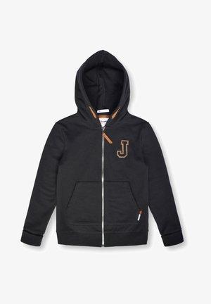 BAVOIS - Sweater met rits - black