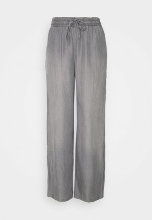 FLOATY PANTS - Trousers - grey medium wash