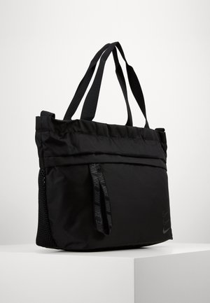 ESSENTIALS - Shopping Bag - black/smoke grey