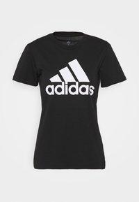 adidas Performance - Camiseta estampada - black/white - 4