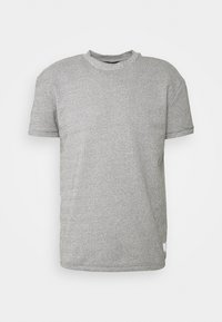 Jack & Jones PREMIUM - JPRBLAZAYN TEE CREW NECK - T-paita - cool grey - 4