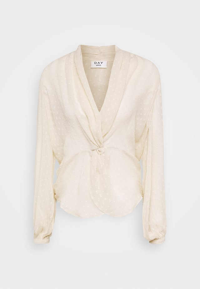 DAY SOUND - Blouse - ivory