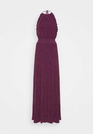 ABITO LUNGOSENZA MANICHE - Žerzejové šaty - purple