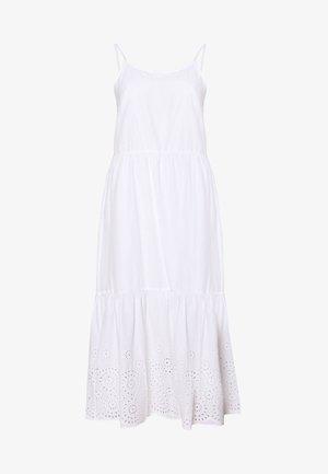 VMHALO SINGLET - Korte jurk - snow white