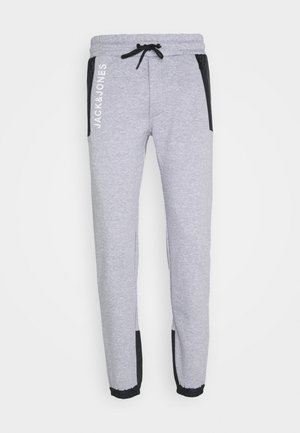 JJIWILL JJARCHER PANTS - Pantalon de survêtement - light grey melange