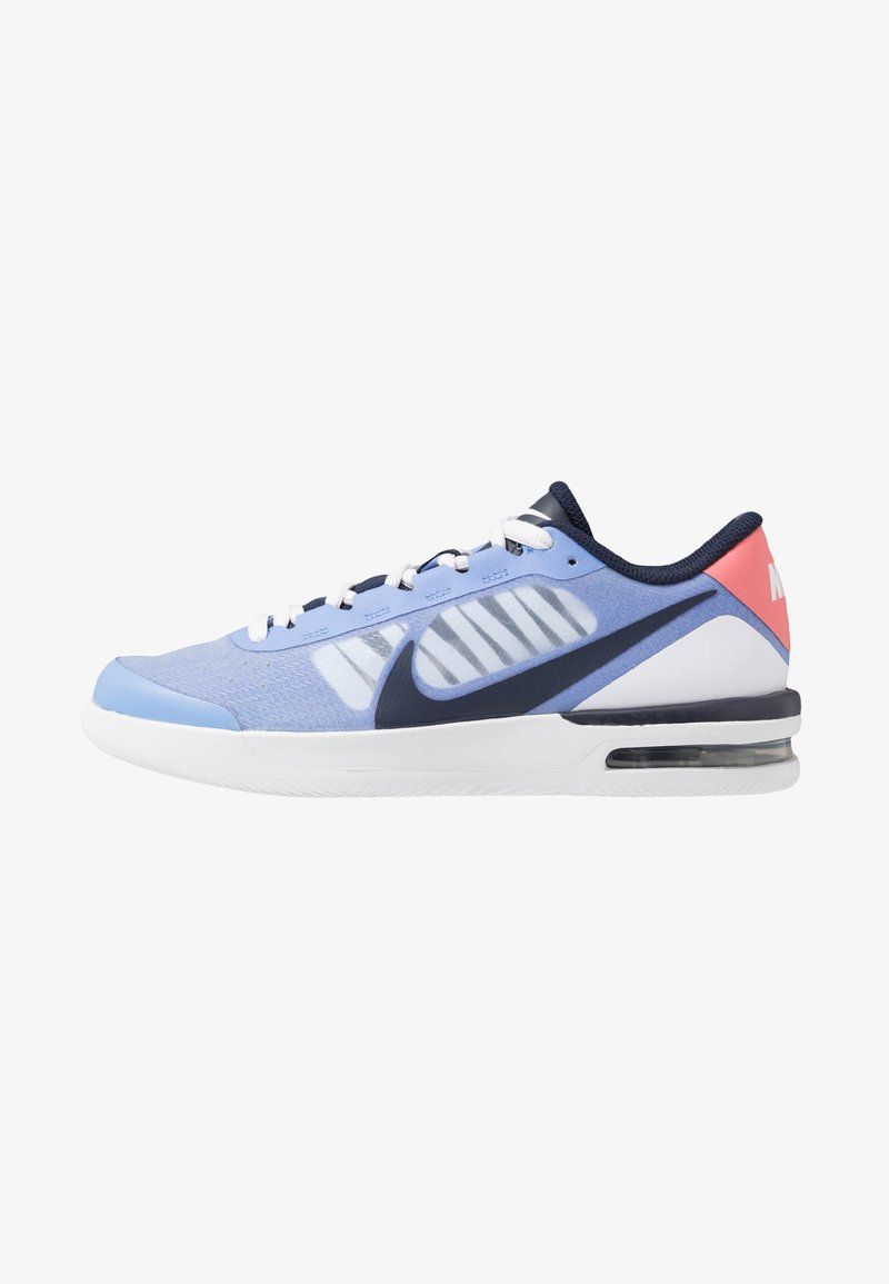 Nike Performance - COURT AIR MAX VAPOR WING - Tennisschoenen voor alle ondergronden - royal pulse/obsidian white/sunblush