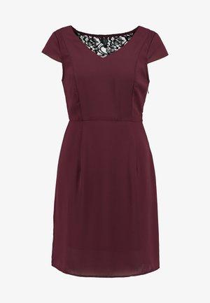 VMMILA CAPSLEEVE SHORT DRESS - Sukienka letnia - port royale/black