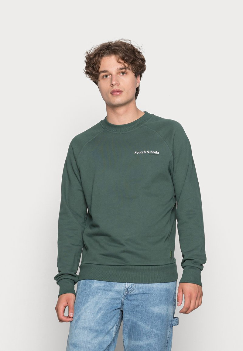 Scotch & Soda - FELPA CREWNECK - Sweater - jungle