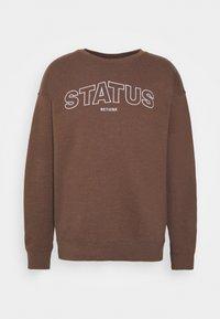 RETHINK Status - CREWNECK UNISEX - Sweatshirt - carafe - 0
