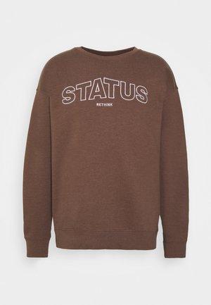 CREWNECK UNISEX - Sweatshirt - carafe