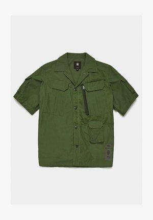 UTILITY POPLIN CROPPED - Overhemd - combat