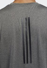 adidas Performance - FREELIFT TECH CLIMACOOL 3-STRIPES TANK TOP - Linne - grey - 4