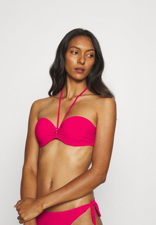 ESCAPE BANDEAU - Bikini pezzo sopra - fushia