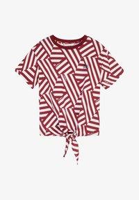 O'Neill - MIT KNOTEN - T-shirt print - cabernet - 0