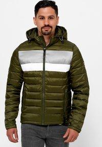 INDICODE JEANS - Winter jacket - cypress - 0