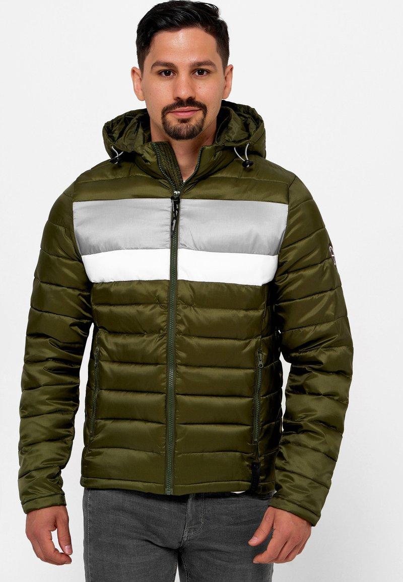 INDICODE JEANS - Winter jacket - cypress
