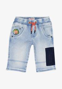 Vingino - CRUZ - Denim shorts - light indigo - 2