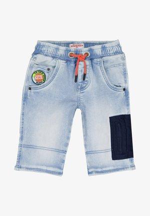 CRUZ - Denim shorts - light indigo