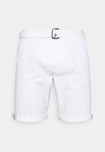 KAISER CHINO EXCLUSIV - Shorts - offwhite