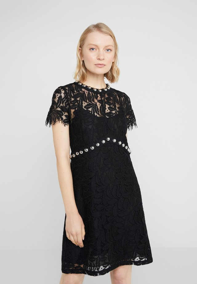 RIVETS DRESS - Cocktail dress / Party dress - black