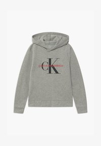 Calvin Klein Underwear - HOODIE - Maglia del pigiama - grey - 0