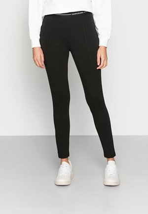 MILANO LOGO ELASTIC - Leggings - Trousers - black