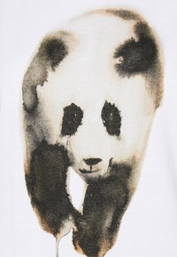 Dedicated - VISBY PAINTED PANDA  - Triko spotiskem - white - 4