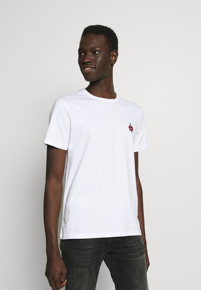 YOURTURN - T-shirt - bas - white
