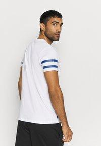 New Era - MLB LA DODGERS TEAM TEE - Print T-shirt - white - 2