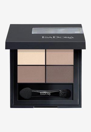 EYESHADOW QUARTET - Eyeshadow palette - muddy nudes