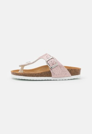 T-bar sandals - light pink