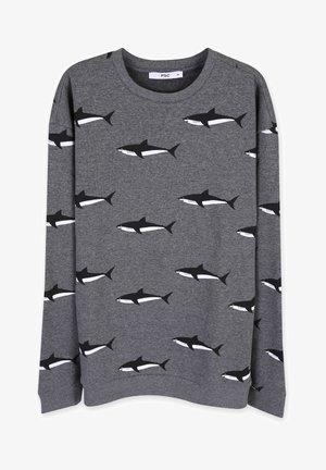 SHARK  - Sweatshirt - dark grey