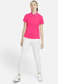 Nike Golf - DRY VICTORY - Sports shirt - hyper pink/white/white - 1