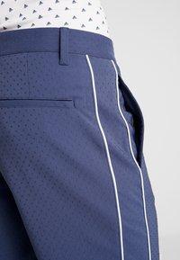 adidas Golf - COLLECTION DOBBY - Sportovní kraťasy - tech indigo - 3