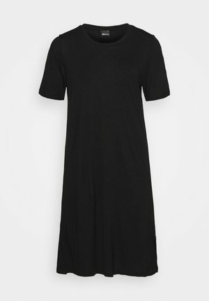 LILJA T SHIRT DRESS - Vestido ligero - black