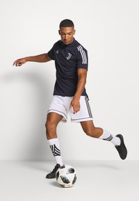 adidas Performance - JUVENTUS SPORTS FOOTBALL - Club wear - blue/grey - 1