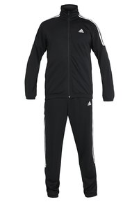 adidas Performance - ATHLETICS TEAM SPORTS TRACKSUIT - Træningssæt - black/white - 8