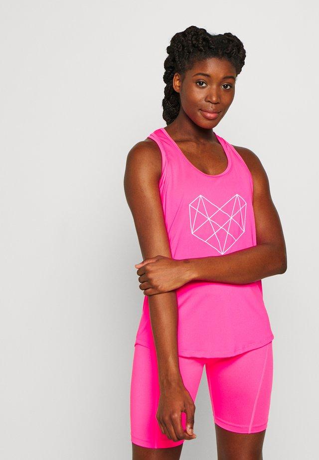 SHADOW TANK - Koszulka sportowa - pink